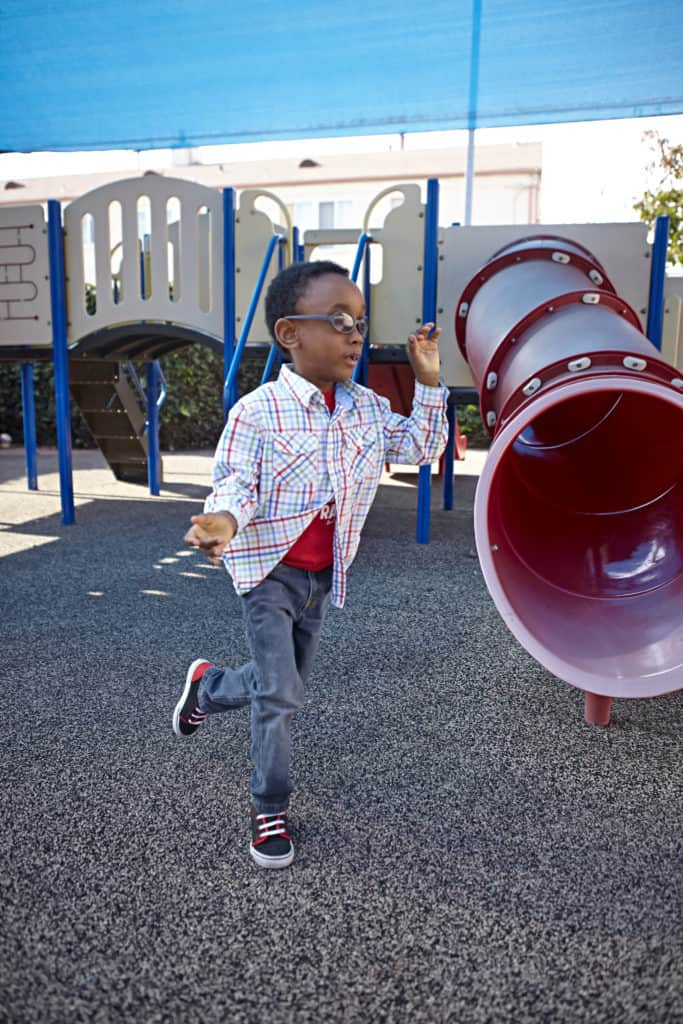 TyShawn at recess